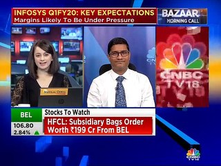 Sandip Agarwal of Edelweiss on what to expect from Infosys numbers