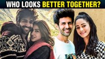 Kartik Aaryan's Jodi Best With Ananya Pandey Or Sara Ali Khan? Ananya REVEALS