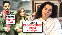 Sidharth Malhotra And Parineeti Chopra SUPPORT Kangana Ranaut Fight With Media Reporter