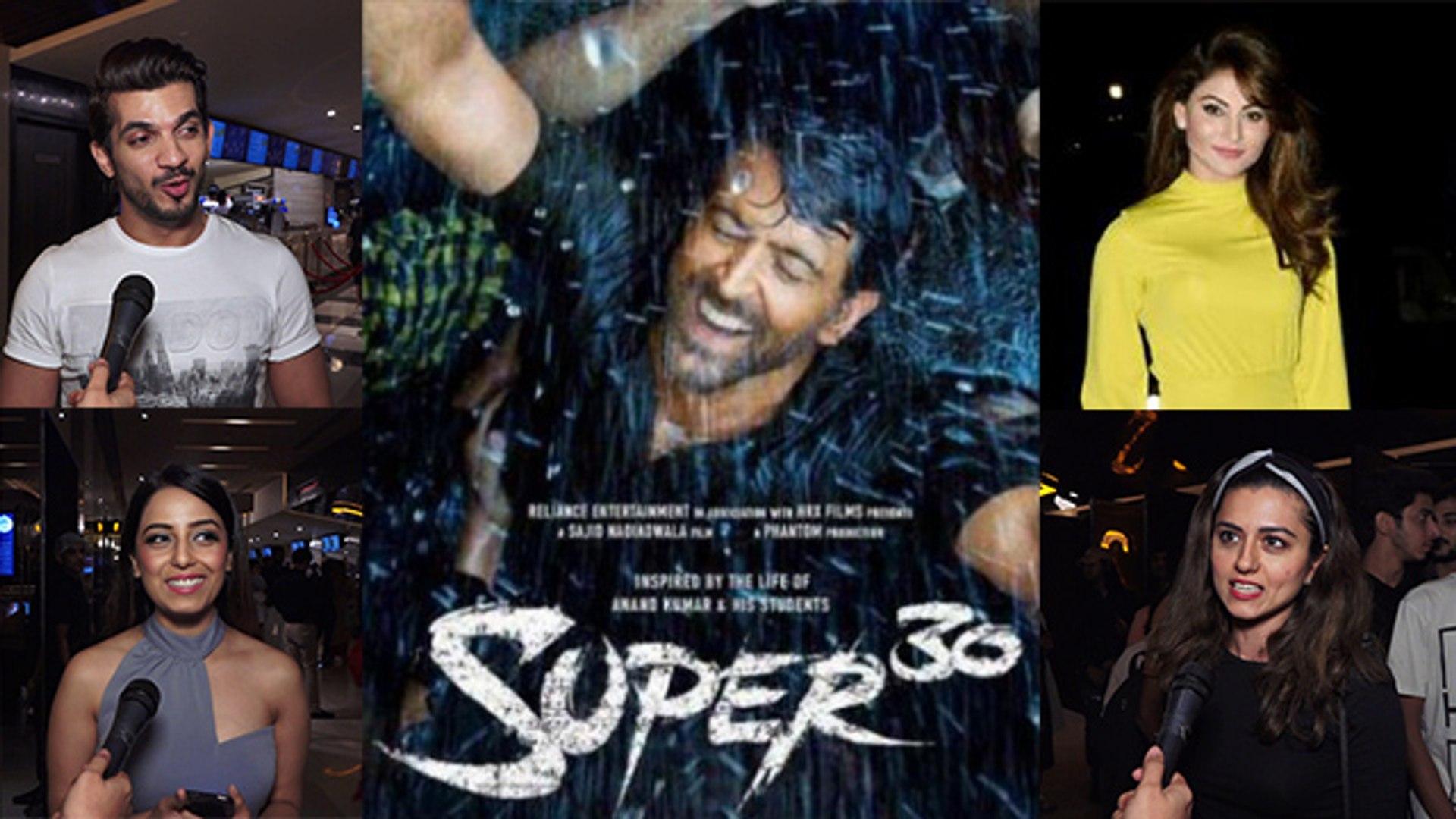 Hrithik Roshan's Super 30 Celebs Reaction: Urvashi Rautela, Ridhi Dogra & others praises fi