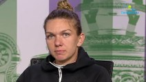 """Wimbledon 2019 - Simona Halep : """"I have a chance to win against Serena Williams"""""""