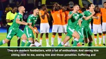 Algeria coach Belmadi reveals shoot out suffering