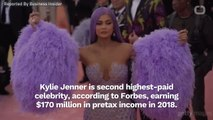 Kylie Jenner Is The World's Second Highest Paid Celebrity