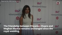 Priyanka Chopra Discusses Her Friendship With Meghan Markle
