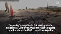 California Hit With Biggest Quake In 20-Years