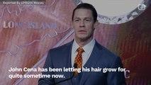John Cena Returns To WWE Look With New Haircut
