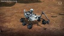 Huge Amount Of Methane Found On Mars