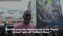 Idris Elba Wrote A Song Featured In 'Hobbs & Shaw'