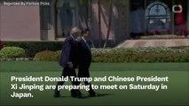 Trump And Xi To Meet As Trade War Damage Grows