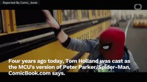 Tom Holland Became Spider-Man Four Years Ago Today
