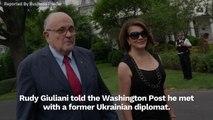 Rudy Giuliani Admits To Meeting With Ukrainian Diplomat