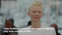 Tilda Swinton Reshot 'Avengers: Endgame' Scene To Make Time-Travel Rules Accurate