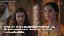 Naomi Scott Talks About Nasim Pedrad's New 'Aladdin' Character