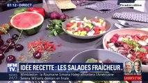 Idée recette: les salades fraîcheur