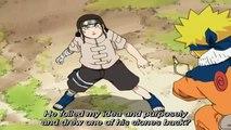 Naruto vs Neji - English Sub