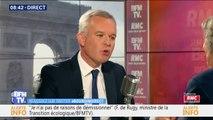 François de Rugy déclare avoir le soutien d'Emmanuel Macron et d'Édouard Philippe