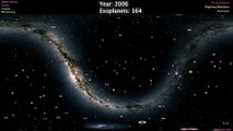 La NASA dévoile une impressionnante carte de l'intégralité des exoplanètes connues à ce jour !