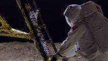 """Pour fêter les 50 ans des premiers pas de l'homme sur la Lune, RMC Découverte diffusera """"Apollo, la face cachée de la Lune"""" lundi 15 Juillet à 20h50APOLLO EXTRAIT 4 Pack Lundi"""
