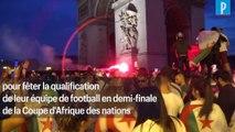 Victoire de l'Algérie à la CAN : les célébrations dégénèrent sur les Champs-Elysées
