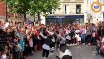Un flashmob Rabbi Jacob à Paris