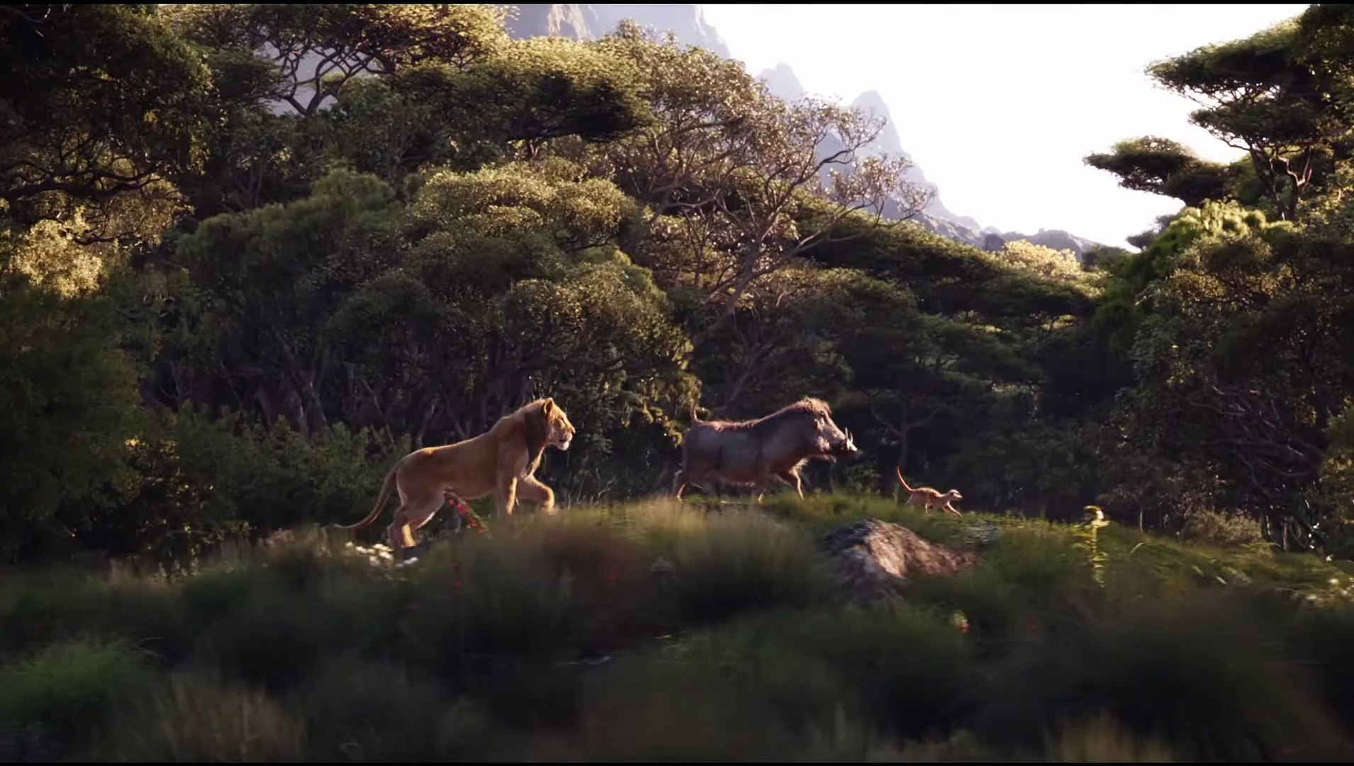 The Lion King Movie Clip Pumbaa Timon Simba Video Dailymotion