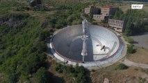Explore este Radiotelescópio gigante da era Soviética