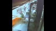 New York: Découvrez les images terrifiantes de ce taxi qui a foncé dans un restaurant à l'heure du déjeuner, blessant 8 personnes