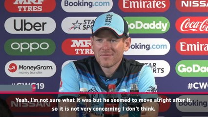 Morgan not concerned by Bairstow's injury