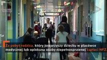 FLESZ: Nocowanie opiekuna w szpitalu za darmo