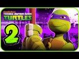 Nickelodeon Teenage Mutant Ninja Turtles Walkthrough Part 2 (X360, Wii) 100% - BOSS Fishface
