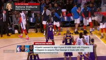 Kawhi gets George to Clippers, Thunder's hands were tied - Ramona Shelburne _ SportsCenter
