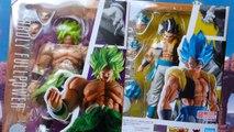 Dragon Ball Super - Unboxing de las SH Figuarts de Gogeta y Broly