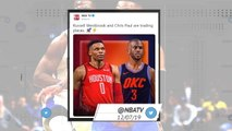 Socialeyesed - World reacts to Westbrook-Paul trade
