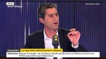 """Taxe Gafa : """"C'est une porte ouverte et je m'en félicite"""", mais """"le pas est millimétrique"""", indique François Ruffin"""