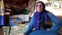 Obdachlose Syrer verkaufen alle Habseligkeiten