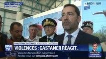 """Christophe Castaner promet """"des sanctions"""" contre les auteurs des violences en marge de la victoire de l'Algérie"""