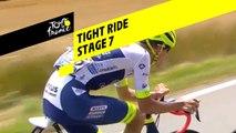 Course serré/ Tight ride  - Étape 7 / Stage 7 - Tour de France 2019