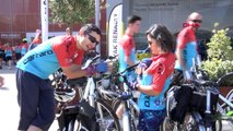 Bursa'da, 'Bisikletle Yüz Yıllık Macera' bisiklet turunun ikinci etabı başladı