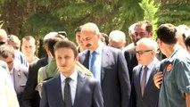 Bakan Gül, şehit Halisdemir'in kabrini ziyaret etti (2)