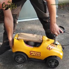 Putting A 70cc Two Stroke Chainsaw Engine In A Toy Car