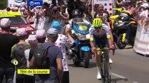 Tour de France 2019 : Offredo passe en tête au col de Ferrière