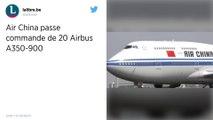 Airbus engrange une commande à 5 milliards d'euros en provenance de Chine