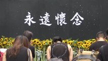 Hong Kong bids farewell to 'Raincoat Man' who fell to his death during anti-extradition bill protest