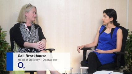 Meet The Digital Expert – Gail Brockhouse talks about O2's Digital Transformation initiative