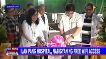 Ilang pang hospital, nabigyan ng free wifi access
