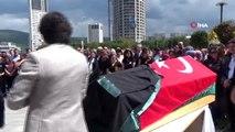 Ümraniye'de başından vurularak öldürülen avukat için adliyede cenaze töreni