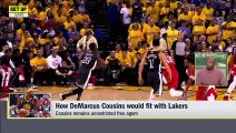 How well could DeMarcus Cousins fit with LeBron, Lakers _ Get Up