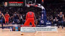 Paul George joining Kawhi Leonard on Clippers is stunning - Stephen A. _ SportsCenter