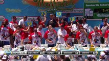 Joey Chestnut eats 71 hot dogs to win Nathan's Hot Dog Eating Contest for 12th time _ ESPN