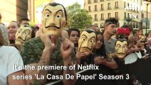 Red carpet: Netflix's La Casa de Papel Season 3